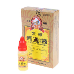 1X Ear Acute Otitis Drops Chinese Herbal Medicine for Ear Tinnit one size