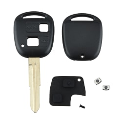 2 Button Remote Key Shell Rubber Pad Switch Blade Repair Kit Fo