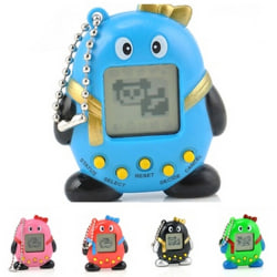 2016 Tamagotchi 168 Pets in 1 Virtual Cyber Nostalgic Pet Toy Ti Color Random One Size