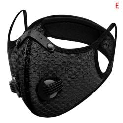 2020 Dammnät Cykelmask Filter Damm Luktmask Anti-Fog Mask