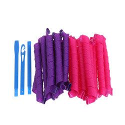20pcs 55cm plastic hair roller DIY easy to use curler hair styli