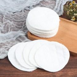 20st återanvändbara bomullsdynor tvättbara sminkborttagningsdynor mjukt ansikte