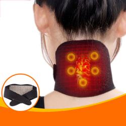 2X Neck Massager Pro Shiatsu Kneading Shoulder Massage Belt Heat one size