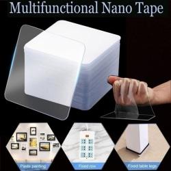 30Pcs Powerful Nano Seamless Double-sided Tape Without Punching 30pc