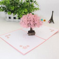 3D pop-up kort födelsedag bröllop valentine hälsning