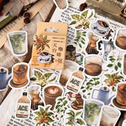 46st Dekorativa Klistermärken Scrapbooking Etikett Dagbok Brevpapper A onesize
