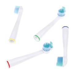 4x electric toothbrush heads for philips sonicare sensiflex HX-2 onesize