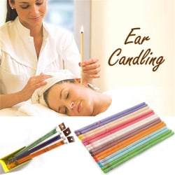 5 pairs Ear Candles Treatment Indiana Therapy Fragrance Candling Purple One Size