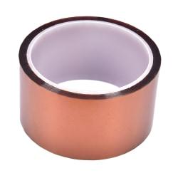 50mm 5cm x 30M Kapton Tape Sticky High Temperature Heat Resista gold onesize