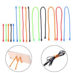 "5Pcs 3''''''''6''''''''12"" reusable magic rubber twist ties cab 3 inch"
