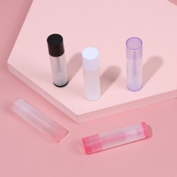 5Pcs 5ml Empty Lip Gloss Tubes Cosmetic Containers Lipstick Tub One Size