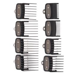 8Pcs Universal Cut Clipper Limit Comb Guide Attachment Size Barb one size