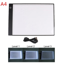 A4 LED Light Pad Diamond Painting Kit Tools Board Accessories E