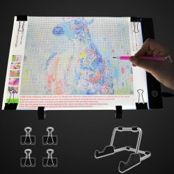 A4 LED Light Pad For Diamond Painting 5D Diamond Embroidery Lig onesize