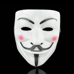 Anonymous Cosplay Mask V Vendetta Mask Guy Fawkes Masquerade Hal A