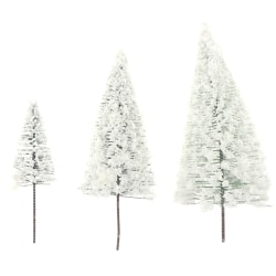 Artificial Christmas Tree Green White Fir tree Base Home Table  L