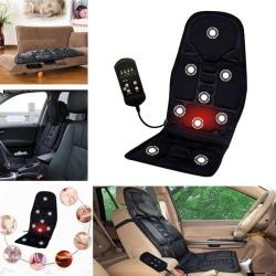 Car Chair Massage Body Heated Seat Cushion Back Neck Pain Massag onesie