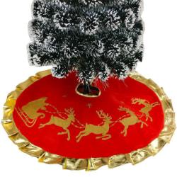 Christmas Tree Skirt Christmas Decorations Felt Floor Decoratio Style-B