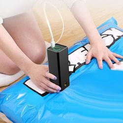 Compression Vacuum Pump Electric USB Inflator Swim Air Pump Bas onesize