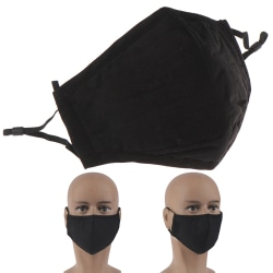 Cotton Mask Activated Carbon Filter Respirator Mouth-muffle Anti onesize