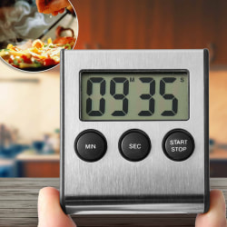 Digital kitchen timer egg timer tea timer kitchen timer stopwat one  size