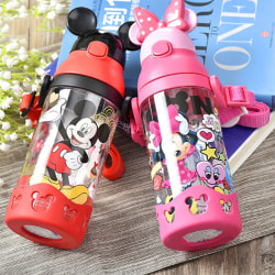 Disney kids water bottle with straw bpa-free 530ml A4