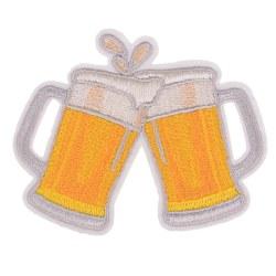 diy broderi öl märkejärn på lapp för klistermärken fa onesize