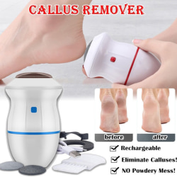 Electric Foot File Grinder Dead Skin Callus Remover for Feet Car Red