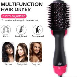 Electric Hair Dryer Blow Dryer Hair Curling Iron Rotating Brush  AU