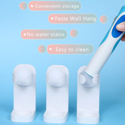 Electric Toothbrush Holder Traceless Stand Rack Wall-Mounted Ba