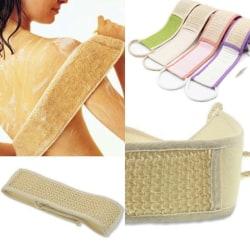 Exfoliating Loofah Back Strap Bath Shower Body Sponge Body Scru Blue