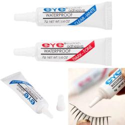 falskt ögonfranslim lim vattentät ögonfransar kosmetiska verktyg faux eyela 1