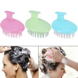 Hair Care Silicone Shampoo Scalp Shower Body Washing Hair Massag Pink pink