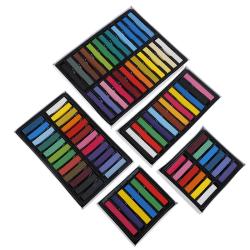 Hair Color Chalk Temporary Hair Dye Washable Pen Pastels Salon W Short 12 colors