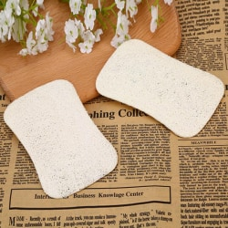 Helpful loofah dish towel absorbant sponge dish cloths anti-oil onesize