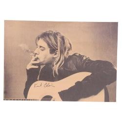 Kurt Cobain Nirvana Frontman Rock Poster Kraft Paper Retro Post onesize