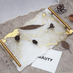 Stor oregelbunden petriskålform Epoxiharts Craft DIY Influensa