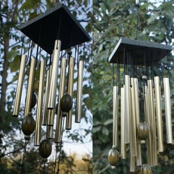 Large Wind Chimes Bells Copper Tubes Outdoor Yard Garden Home D one size