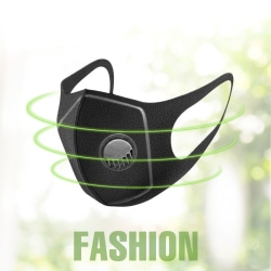 Mask Dust Breathing Mask Activated Carbon Dustproof Mask for Out breathing valve