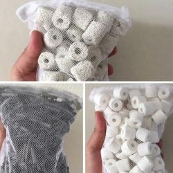 Mesh Bag Acqurium Pond Filter Net Bag For Bio Ball Ammonia Aqua A1
