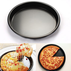 "New Round Deep Dish Pizza Pan 8"" Non-stick Pie Tray Baking Kitc"