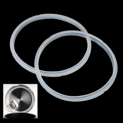 Replacement Silicone Pressure Cooker Gaskets Rubber Clear Elect M20
