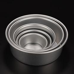 Round Aluminum Baking Tin Pan Mold Mould for Sandwich Cake Kitc 5''''