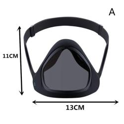 Smart Mask Justerbar och återanvändbar Anti-Fog Magnetic Adult Sili