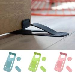 Spring Innovative Door Stopper Properly Holds Your Door Open Do Black