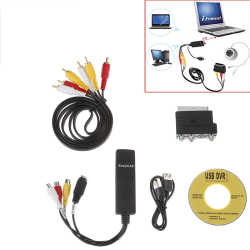 Video Cassettes VHS to DVD Convert Digitizing USB Adapter PC La one  size