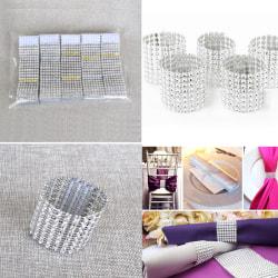 Wedding Decoration Bling Diamond Mesh Trim Wrap Cake Roll Rhine n/a n/a