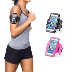 Fukttåligt Sportarmband iPhone 6 / 7 / 8 / SE Rosa