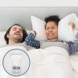 Magnetisk Näsklämma mot Snarkning Transparent