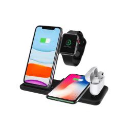 Multi 4-i-1 Bordsladdare för iPhone, Apple Watch och AirPods